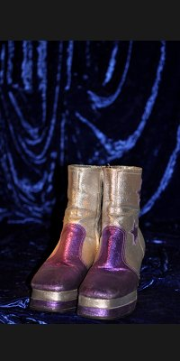 Men's purple boots