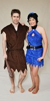 Barney and Betty Rubble